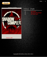 Трейнер Shadow Complex Remastered