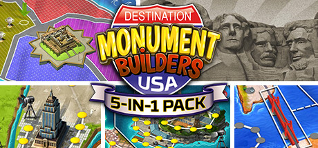 Русификатор 5-in-1 Pack - Monument Builders: Destination USA