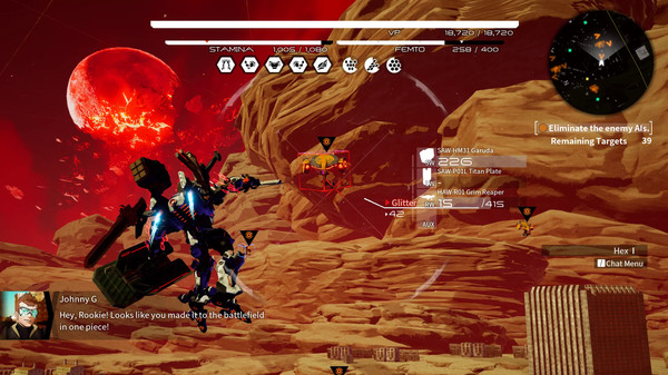 Трейнер DAEMON X MACHINA (+15) FliNG