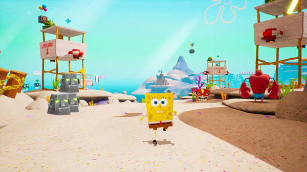 Сохранения для SpongeBob SquarePants: Battle for Bikini Bottom - Rehydrated (100% save) - картинка для статьи на сайте GAMMAGAMES.RU